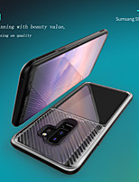 cheap -Case For Samsung Galaxy S9 / S9 Plus Shockproof Back Cover Solid Colored TPU