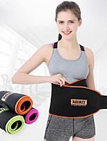 cheap -AOLIKES Lumbar Belt / Lower Back Support Sweat Waist Trimmer Sauna Belt 1 pcs Sports Fleece SBR Lycra Yoga Fitness Gym Workout Adjustable Stretchy Slimming Weight Loss Tummy Fat Burner For Men Women