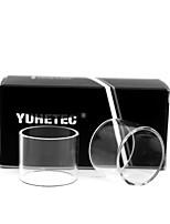 cheap -YUHETEC Replacement Glass Tube for Dead Rabbit RTA 2PCS