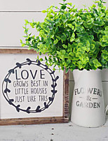 cheap -Artificial plant suitable for farmhouse home garden office courtyard wedding and indoor and outdoor decoration 3 sticks