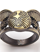 cheap -Couple's Band Ring 1pc Brown Bronze Light Brown Alloy Geometric Punk Trendy Daily Jewelry Geometrical Hope Cool