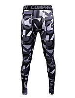cheap -JACK CORDEE Men's Compression Pants Cycling Pants Polyester Bike Bottoms Breathable Quick Dry Sweat-wicking Sports Black Mountain Bike MTB Road Bike Cycling Clothing Apparel Form Fit Bike Wear