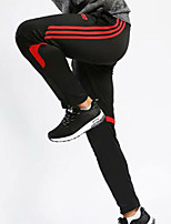 cheap -Men's Running Pants Track Pants Sports Pants Sports Pants / Trousers Running Jogging Training Breathable Quick Dry Soft Solid Color Black Black / Red Gray+Green Red Blue Fruit Green / Micro-elastic