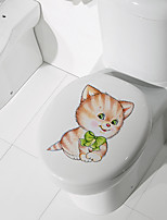 cheap -Toilet Stickers - Animal Wall Stickers Animals / Shapes Bathroom / Kids Room