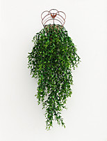 cheap -Artificial plant background wall sprout wall rattan background wall hanging decoration