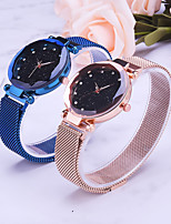 cheap -Women's Quartz Watches Casual Fashion Black Blue Gold Alloy Quartz Black Purple Gold New Design Casual Watch Adorable Analog