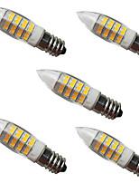 cheap -5pcs 5 W LED Corn Lights LED Bi-pin Lights 500 lm E14 G9 50 LED Beads SMD 2835 Decorative Warm White 220-240 V