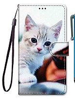 cheap -Case For Samsung Galaxy S10 / S10 Plus / S10 E Wallet / Card Holder / with Stand Prestige Cat PU Leather / TPU for A10s / A20s / A50(2019) / A70(2019) / A90(2019) / Note 10 Plus / J6 Plus(2018)