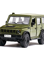 cheap -1:32 Toy Car Music Vehicles Chariot Construction Truck Set Military Vehicle SUV Glow Focus Toy Parent-Child Interaction Zinc Alloy Rubber ABS+PC All Boys and Girls