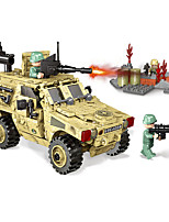 cheap -Building Blocks Military Blocks Vehicle Playset 451 pcs Military compatible Legoing Simulation Military Vehicle All Toy Gift / Kid's / Educational Toy