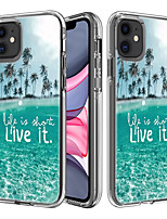 abordables -étui pour apple scene map iphone 11 11 pro 11 pro max x xs xr xs max 8 la nouvelle carte peinte pc à haute pénétration tpu deux en une texture étui de téléphone tout compris