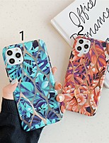 cheap -Case For Apple iPhone 11 / iPhone 11 Pro / iPhone 11 Pro Max Plating / Pattern Back Cover Tree TPU X XS XSmax XR 6 6plus 6splus 6s 7 7plus 8 8plus