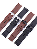 cheap -Watch Band for Gear S3 Frontier / Gear S3 Classic / Gear S3 Classic LTE Samsung / Samsung Galaxy Leather Loop Genuine Leather Wrist Strap