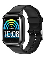 cheap -Smartwatch Digital Modern Style Sporty Silicone 30 m Water Resistant / Waterproof Heart Rate Monitor Bluetooth Digital Casual Outdoor - Black White Gold