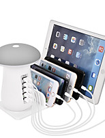 cheap -USB Charging Station for Multiple Devices 5 Port Quick Charger Desk Docking Organizer with 3.0 Compatible with iPhone iPad