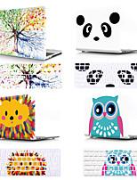 cheap -Mac Keyboard Cover & MacBook Case Cartoon / Flower Plastic for New MacBook Pro 15-inch / New MacBook Pro 13-inch / New MacBook Air 13 2018