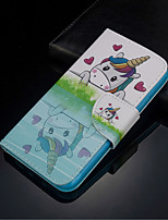 cheap -Case For Samsung Galaxy S20  S920 Plus S20 ULTRA Wallet Card Holder / Flip Full Body Cases Heart Animal PU Leather for Galaxy S10 S10 E S10 PLUS A10 A20 A30 A30S A40 A50 A50S A70 A80 A90 NOTE 10 PLUS