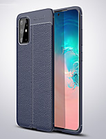 cheap -Case For Samsung Galaxy S11 / S11 Plus / S11 E Litchi Grain Shockproof Soft TPU Phone Case for Samsung Galaxy S10 / S10 Plus / S10 E / S10 5G