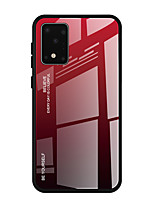 cheap -Luxury Gradient Tempered Glass Protective Case For Samsung Galaxy S11 Plus S11E S10 Plus S10E S10 5G S9 Plus S8 Plus Shockproof Back Cover Soft TPU Edge Protection