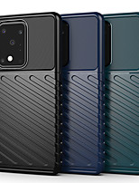 cheap -Case For Samsung Galaxy Galaxy S10 / Galaxy S10 Plus / Galaxy S10 Lite Shockproof Back Cover Solid Colored TPU