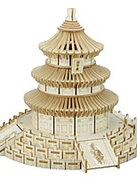 cheap -3D Puzzle Wooden Puzzle Temple of Heaven Simulation Hand-made Wooden 272 pcs Tank Kid's Adults' All Toy Gift