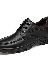 cheap -Men's Formal Shoes Nappa Leather Spring / Fall Casual / British Oxfords Non-slipping Black