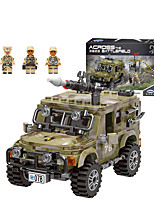 cheap -Building Blocks Military Blocks Vehicle Playset 463 pcs Military compatible Legoing Simulation Military Vehicle All Toy Gift / Kid's / Educational Toy