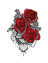 cheap -3 pcs Temporary Tattoos Water Resistant / Disposable Face / Body Water-Transfer Sticker Tattoo Stickers