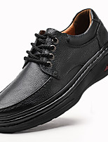 cheap -Men's Formal Shoes Nappa Leather Spring / Fall & Winter Casual / British Oxfords Non-slipping Black / Brown / Party & Evening