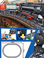 cheap -Building Blocks 536 pcs Train compatible Legoing Simulation Train All Toy Gift / Kid's
