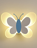 cheap -Children's Wall Lamp Simple Modern Girl Bedroom Wall Lamp Butterfly Creative Boy Cartoon Children's Room Led Bedside Lamp