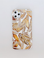 cheap -Case For Apple iPhone 11 / iPhone 11 Pro / iPhone 11 Pro Max Plating / Pattern Back Cover Tree TPU X XS XSmax XR 8 8plus 7 7plus 6 6S 6plus 6Splus