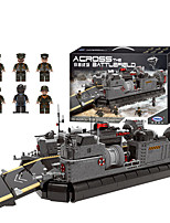 cheap -Building Blocks 2614 pcs Military compatible Legoing Simulation Boat All Toy Gift / Kid's