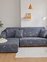 cheap -Stars Constellation Print Dustproof All-powerful Slipcovers Stretch Sofa Cover Super Soft Fabric Couch Cover with One Free Pillow Case