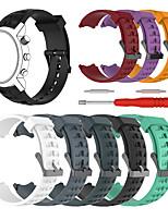 Недорогие -Ремешок для часов для SUUNTO Terra Suunto Спортивный ремешок силиконовый Повязка на запястье