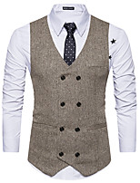 cheap -Plague Doctor Victorian Steampunk Waistcoat Paisley Coletes Men's Costume Black / Black with White / Apricot Vintage Cosplay Party Halloween / Vest