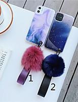 abordables -coque pour apple iphone 11 / iphone 11 pro / iphone 11 pro max coque arrière en marbre tpu x xs xsmax xr 7 7plus 8 8plus 6 6s 6plus 6splus