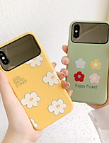 cheap -Case For Apple iPhone 11 / iPhone 11 Pro / iPhone 11 Pro Max Pattern Back Cover Flower TPU for iPhone X XS XR XS MAX 8 8PLUS 7 7PLUS 6 6PLUS 6S 6S PLUS