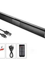 cheap -20W TV SOUND BAR WIRED AND WIRELESS BLUETOOTH HOME SURROUND SOUNDBAR FOR PC THEATER TV SPEAKER