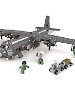 cheap -Building Blocks 1713 pcs Military compatible Legoing Simulation Fighter All Toy Gift / Kid's