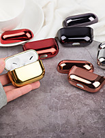 cheap -Case For AirPods Pro Shockproof / Plating / Cool Headphone Case Hard