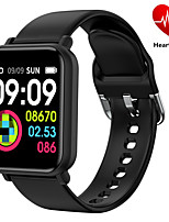 cheap -Smartwatch Digital Modern Style Sporty Silicone 30 m Water Resistant / Waterproof Heart Rate Monitor Bluetooth Digital Casual Outdoor - Black Purple Red