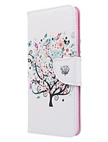 cheap -Case For Samsung Galaxy S10 / Galaxy S10 Plus / Galaxy S10 E Wallet / Card Holder / with Stand Full Body Cases Tree PU Leather For Galaxy S11/S11E/S11 Plus/Note 10 Plus/A20E/A71/A51