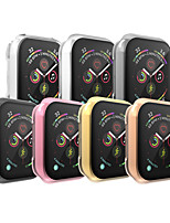 cheap -Cases For Apple Watch Series 6 / SE / 5/4 44mm / Apple Watch Series 6 / SE / 5/4 40mm / Apple Watch Series 3/2/1 38mm Plastic Compatibility Apple