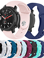 cheap -Smartwatch Band for Huami Amazfit GTR 42mm / Bip Younth Watch / Amazfit Bip / Bip Lite Amazfit sport Band Fashion Soft comfortable Silicone Wrist Strap 20mm
