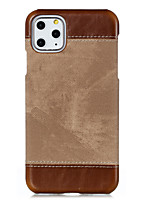 cheap -Case for Apple scene map iPhone 11 11 Pro 11Pro Max X XS XR XS Max new denim leather stitching PU leather case