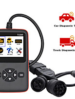 cheap -V500 Car/Truck Scanner OBD2 Diagnostic Tool Code Reader for Car Heavy Duty Truck V500 Diagnostic Scanner