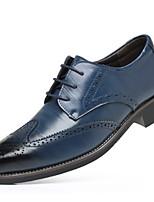 cheap -Men's Comfort Shoes PU Fall & Winter Oxfords Black / Brown / Yellow