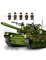 cheap -Building Blocks 1339 pcs Military compatible Legoing Simulation Tank All Toy Gift / Kid's