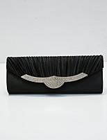 cheap -Women's Sequin / Glitter Nylon Evening Bag Solid Color Black / Wine / Purple
